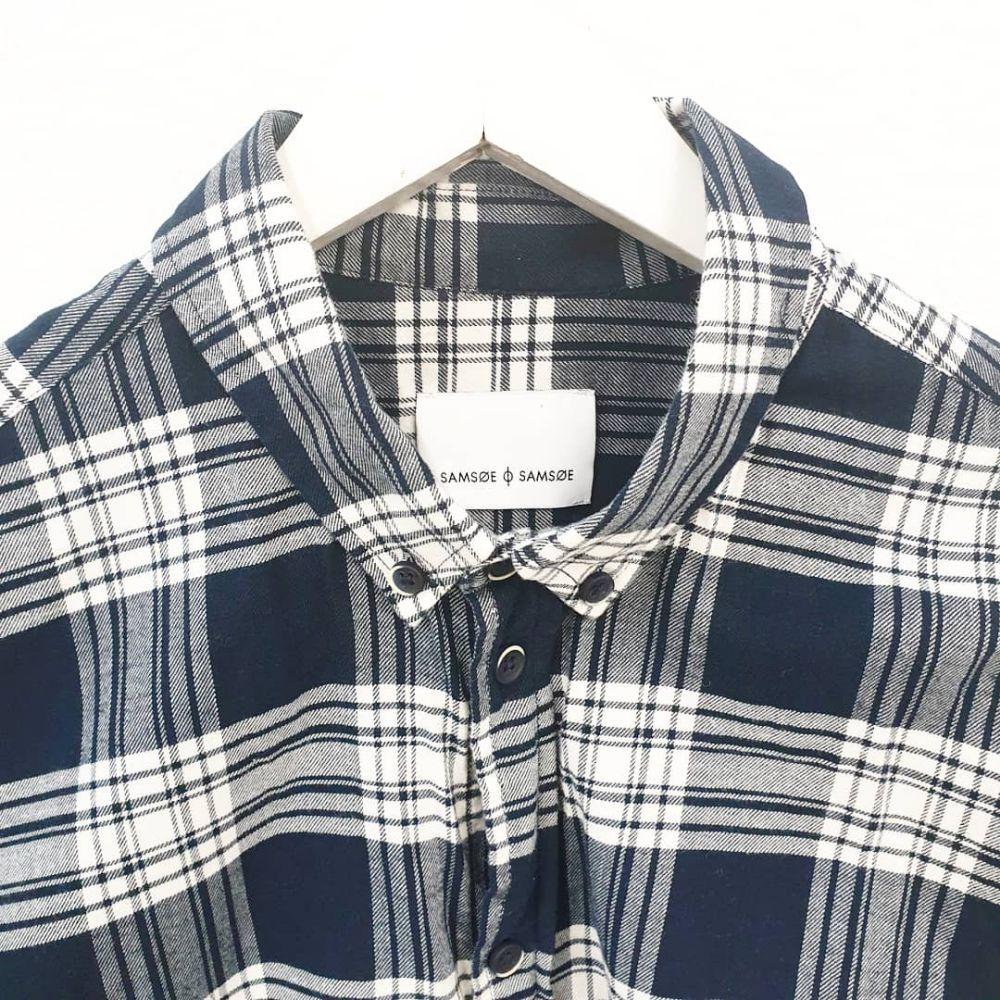47c76182 Samsøe & Samsøe Rutete skjorte | Fretex