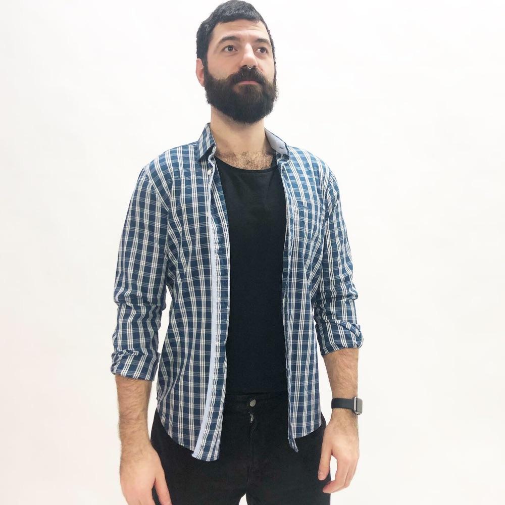 99d60706 Sebago Rutete skjorte | Fretex