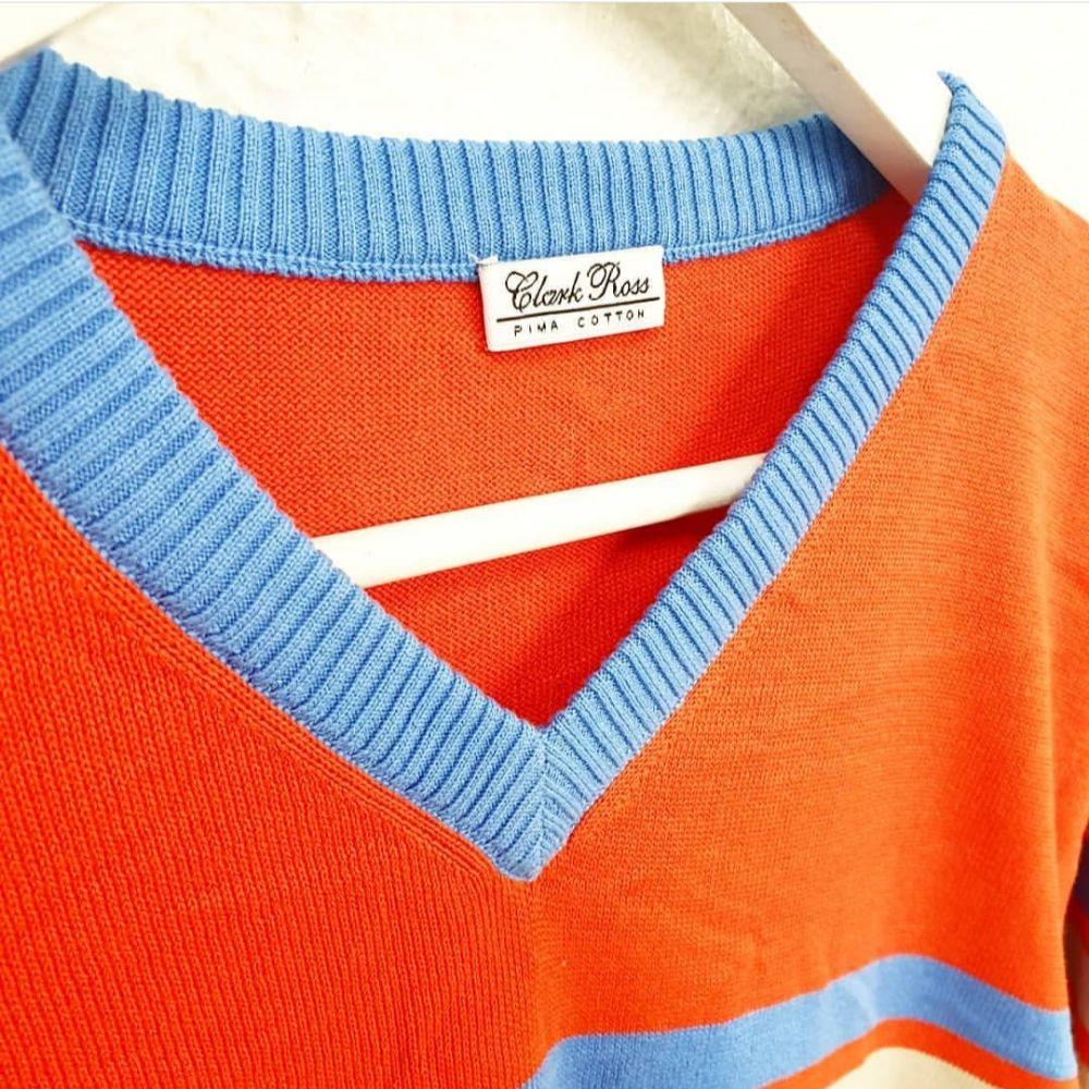 Clark Ross Stripete genser | Fretex